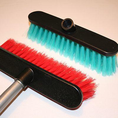 Budget broom, Flagged PVC