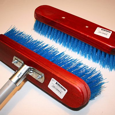 Floor broom, Stiff