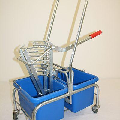Roundmop wringer & trolley complete